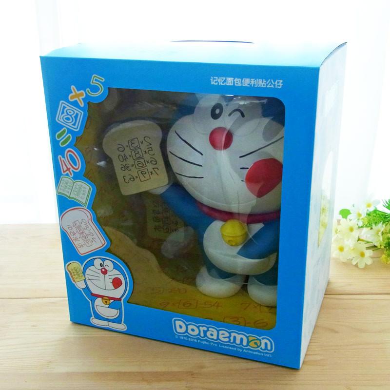 哆啦A梦机器猫叮当猫吃记忆面包手办玩偶摆件