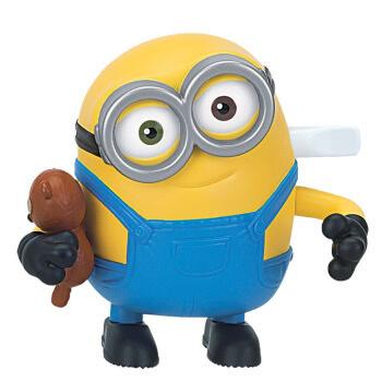 小黄人3《小黄人 大眼萌》卑鄙的我 益智玩具 电影周边正品授权 行路公仔 匆忙奔跑的鲍勃Bob