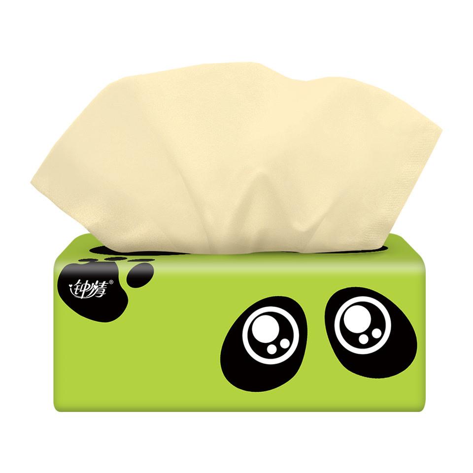 【30包】钟情原生竹浆本色纸巾餐巾纸卫生纸母婴适用抽纸3层箱装